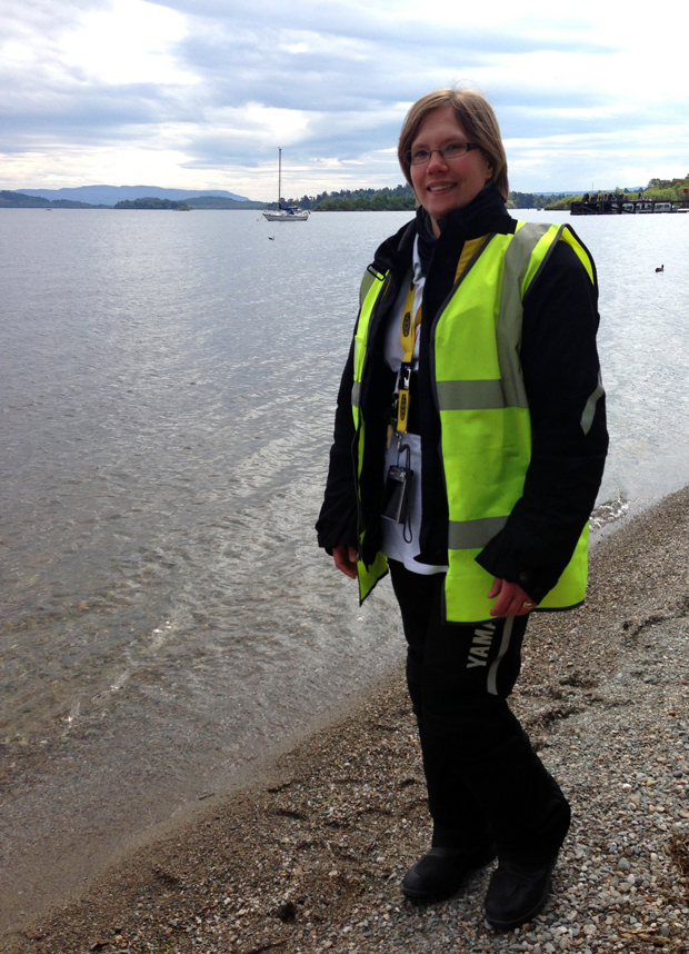 Veronica at Loch Lomond