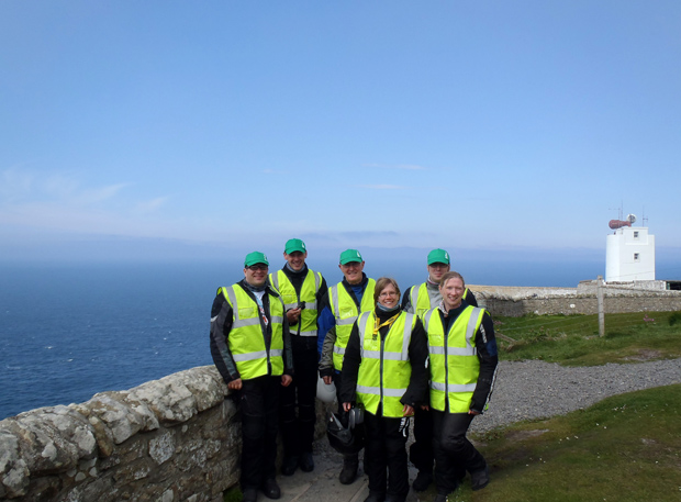 At our final compass point - Dunnet Head, Scotland